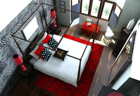 black white and red room black white and red room decor 20 fantastic bedroom color schemes