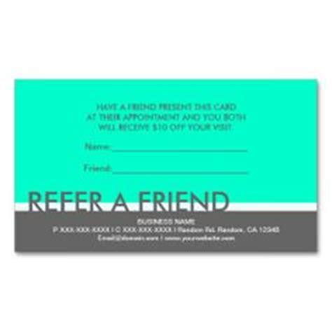 refer a friend card template free quotes for business referral cards quotesgram