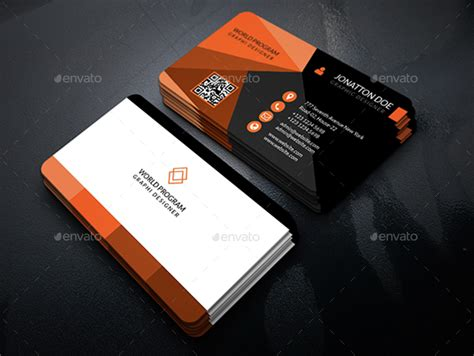 amazing business card templates clean amazing business card template 195 by