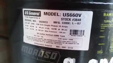 review  general maintenance   harbor freight  gal