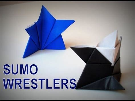 How To Make A Paper Sumo Wrestler - how to make a paper sumo wrestler 28 images origami