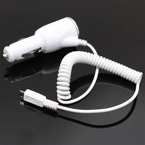 Car Charger Mobil Led Logo Note 4 Note4 5v White Putih buy travel led car charger adapter cable cord for samsung