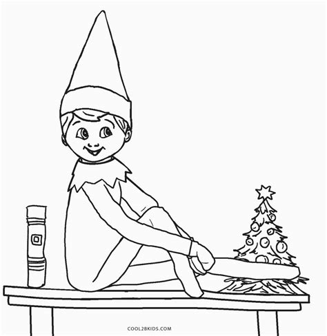 boy elf on the shelf coloring pages to print holiday coloring pages cool2bkids