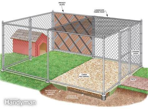 backyard dog run 25 best ideas about dog runs on pinterest outdoor dog