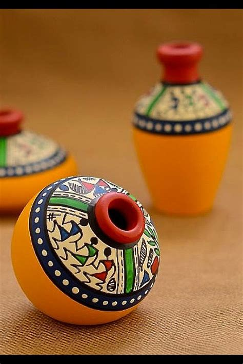 home decor pots 36 best pot painting images on pinterest diwali