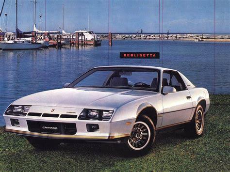 camaro berlinetta 1984 chevrolet camaro berlinetta 1982 1984