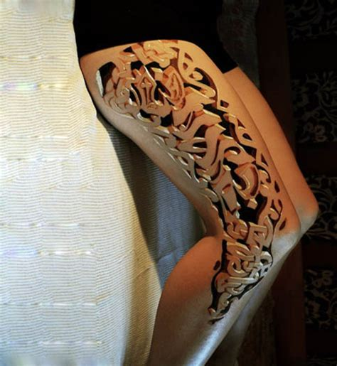 leg tattoo designs for women beautiful 3d leg tribal tattoos design fashion for
