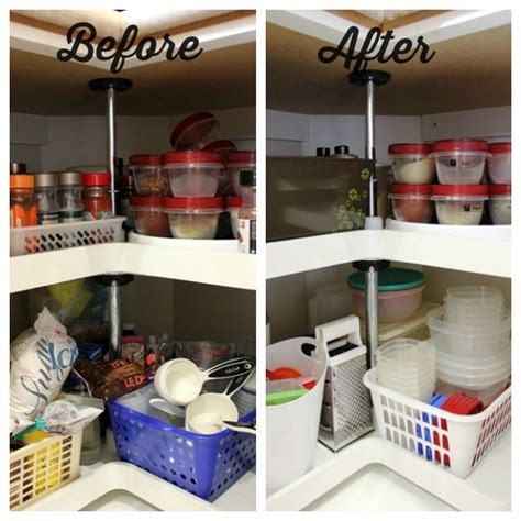 Lazy Susan Organizer Ideas | organizing lazy susans