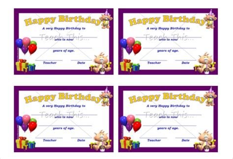 happy birthday certificate templates free birthday certificate templates 23 free psd eps in