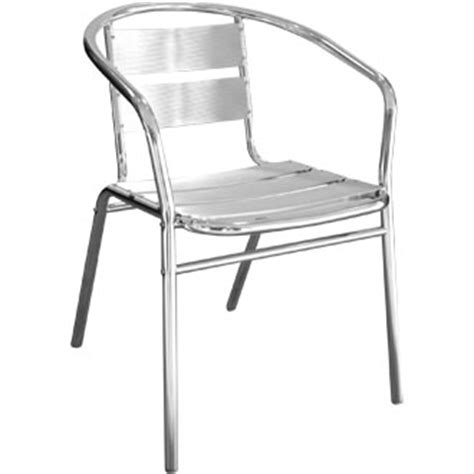 Aluminium Bistro Chairs Aluminium Bistro Chair Higgins Ie