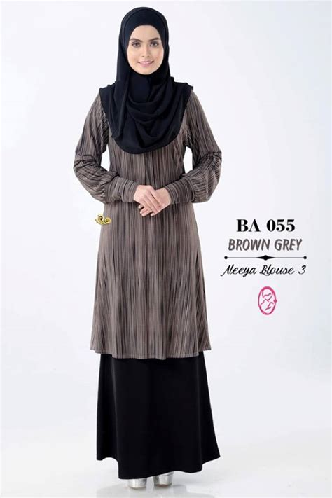 Cardigan Rajut Muslimah Fashion Wanita Fashion Muslimah Dress norzi beautilicious house nbg002 blouse aleeya iii nursing friendly