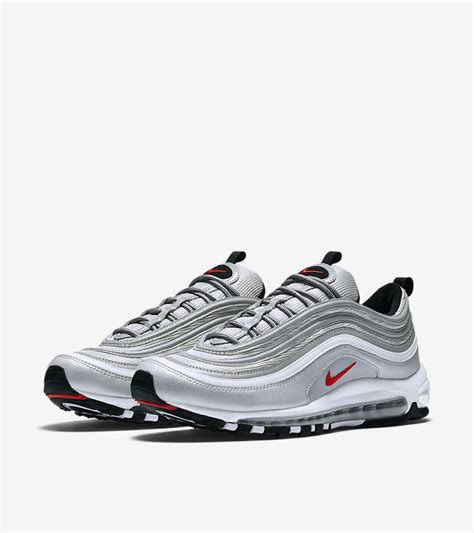 nike air silver nike air max 97 og quot silver bullet quot 884421 001 shoe engine