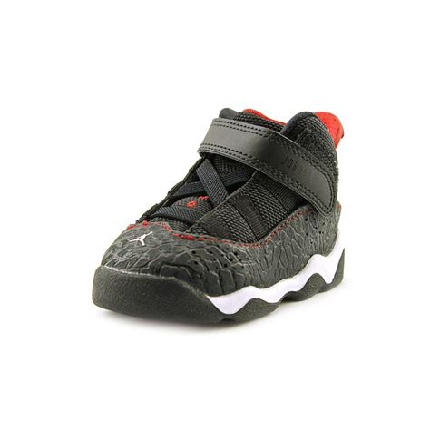 infant sneakers size 4 six rings td infant baby boys size 4 black sneakers