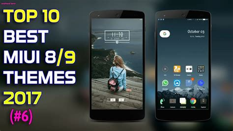 mi top themes top 10 best miui 8 miui 9 themes 2017 dark featured theme