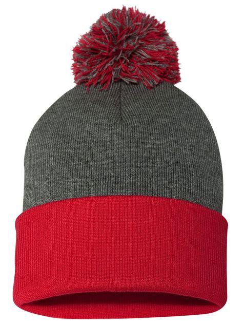 Pom Pom Cap customize pom pom knit cap
