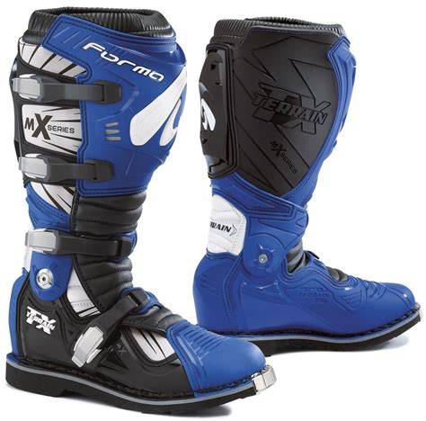 blue motocross boots forma terrain tx cross boot motorcycle mx boots blue forma