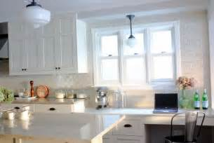 White Kitchen With Backsplash subway tile backsplash ideas with white cabinets home design ideas