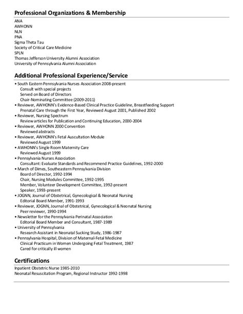 professional memberships on resumes carbon
