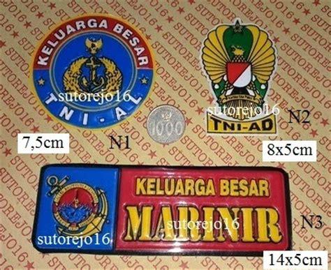 Stiker Mabes Tni Fashion Army atribut dan aksesoris tni polri stiker tni polri