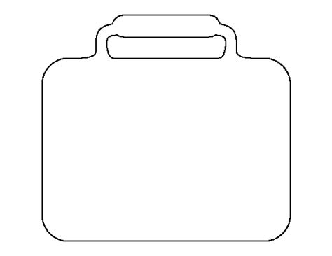 box outline template lunchbox pattern use the printable outline for crafts