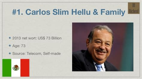 top 10 richest in the world 2013