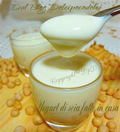 fatto in casa come fare lo yogurt di soia