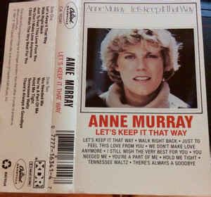 murray let s keep it that way murray let s keep it that way cassette album at
