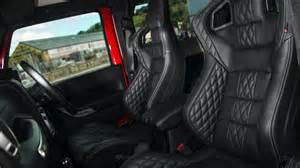 Jeep Tj Leather Seats Tuningcars Kahn Design Jeep Wrangler Cj400