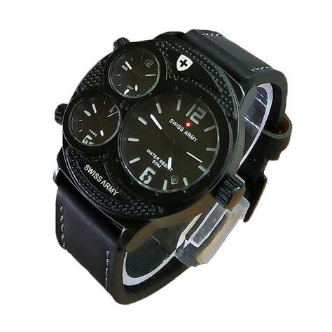 Swiss Army Hitam Putih harga g army gpg 150 5 jam tangan pria hitam putih