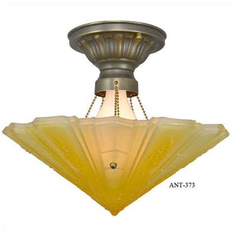 antique ceiling lights for sale antique impressed glass deco bowl shade ceiling light fixture by frankelite consolidated
