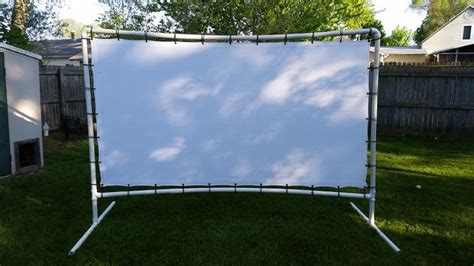 backyard movie screens backyard movie screen 9 steps with pictures