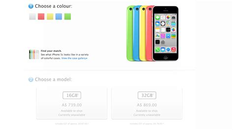 apple iphone 5s and iphone 5c australian prices and release dates gizmodo australia