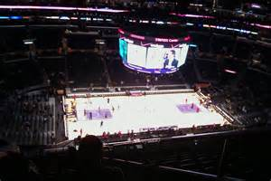 staples center sections clippers lakers staples center section 303