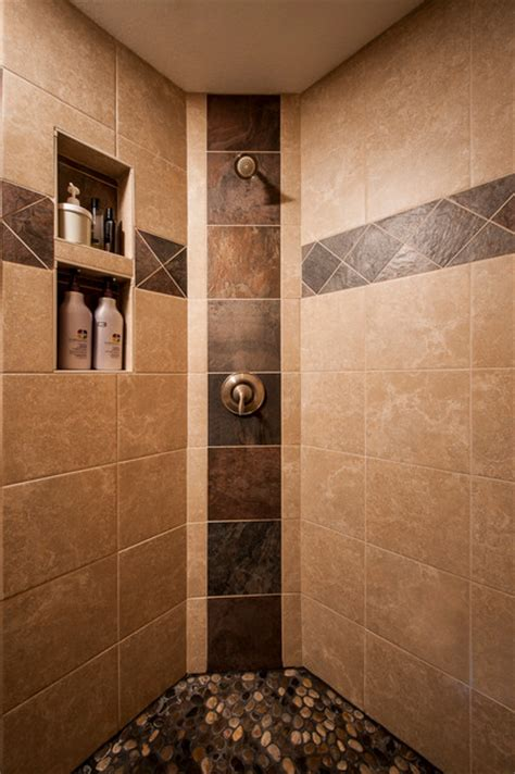 custom walk in showers custom tile walk in shower