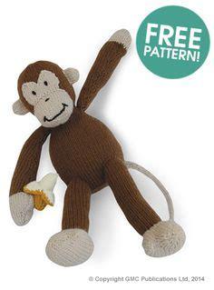 monkey knitting pattern free 1000 images about knitting toys on free