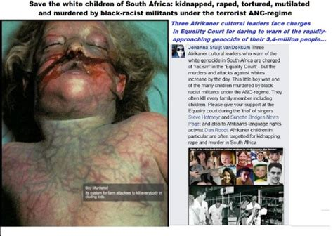 white genocide in south africa here are the names 104 best south african genocide images on pinterest