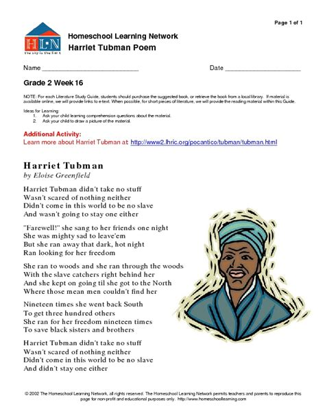harriet tubman biography for third graders worksheets harriet tubman worksheets opossumsoft