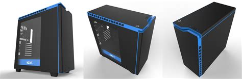Nzxt H440 Black Black Blue White 1 a few questions about lighting modding and
