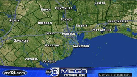 houston texas weather map channel 13 houston weather map