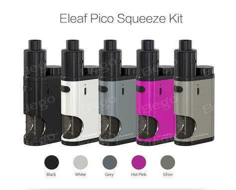 Eleaf Pico Squeeze Bottle Spare Parts eleaf pico squeeze with coral kit 6 5ml