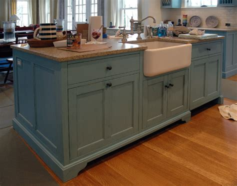Painted Islands For Kitchens | painted kitchen islands