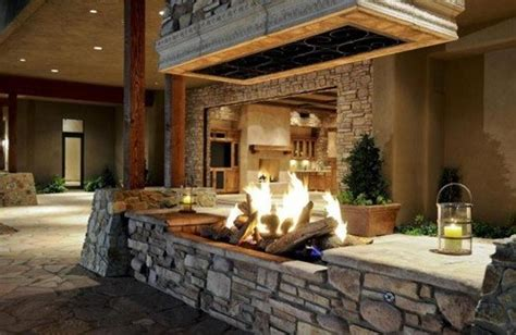 Indoor Pit Fireplace by 20 Indoor Pit Ideas