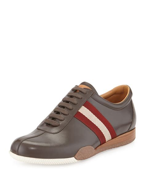 sneakers for bally freenew leather sneakers for lyst