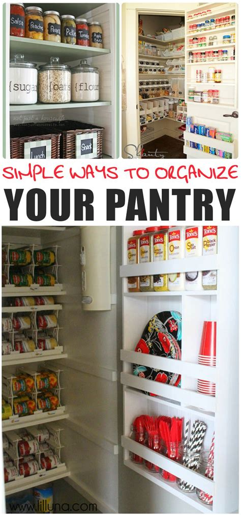 6 six tips to organize your pantry 28971 best images about organizing ideas on pinterest