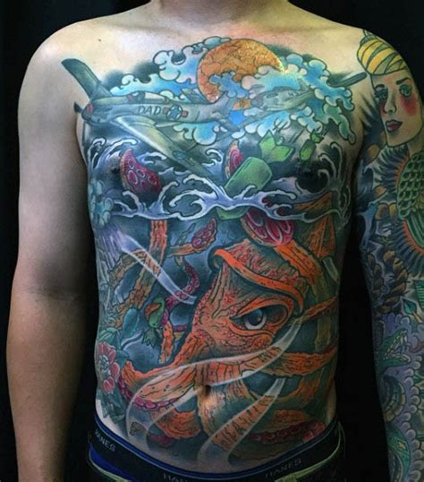 underwater scene tattoo designs 100 squid designs for manly tentacled skin