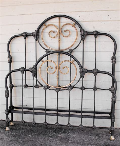 vintage iron bed antique iron bed 3 cathouse antique iron beds