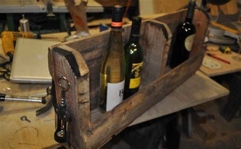 How To Make A Pallet Wine Rack by How To Make A Pallet Wine Rack With Diy Pete