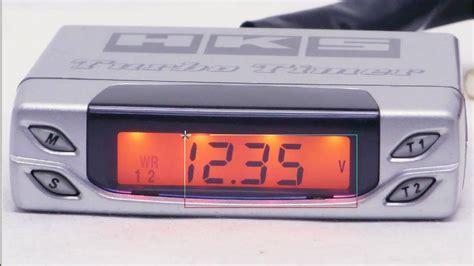 New Turbo Timer Hks hks turbo timer type 1