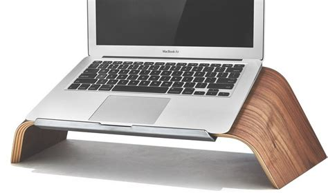 Laptop Stand For Desk Mac Grovemade Debuts New Maple And Walnut Wood Laptop Stands Mac Rumors