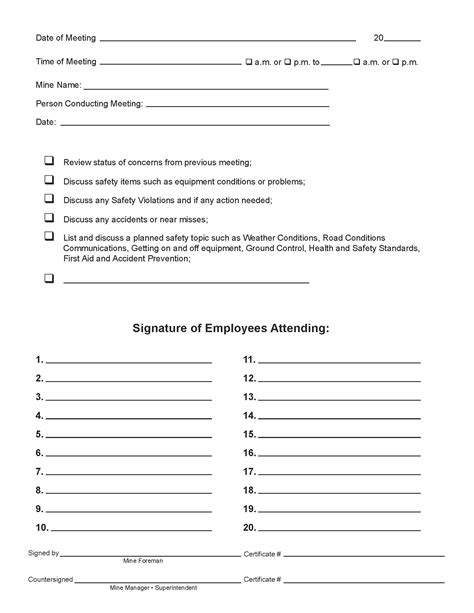 tailgate meeting template tailgate safety meeting template best payment voucher